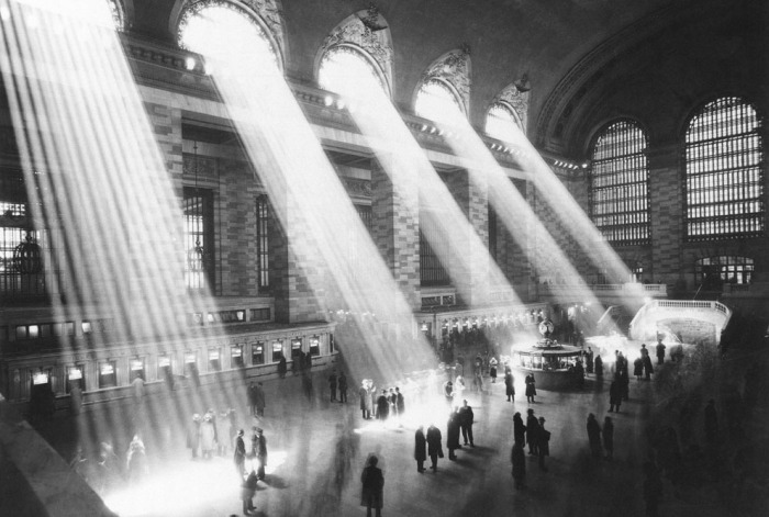 Grand Central Terminal circa 1954 (AP Photo) // via The Atlantic