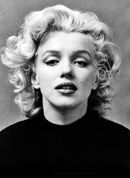 Marilyn  Monroe // photo: Ben Ross // via Vintage Gal